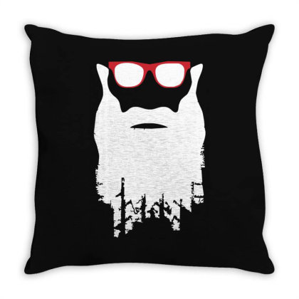Yre Beard Fast N' Loud Throw Pillow Designed By Lyly