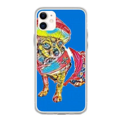 Cute Little Chihuahua Crosbre Iphone 11 Case Designed By Kemnabi