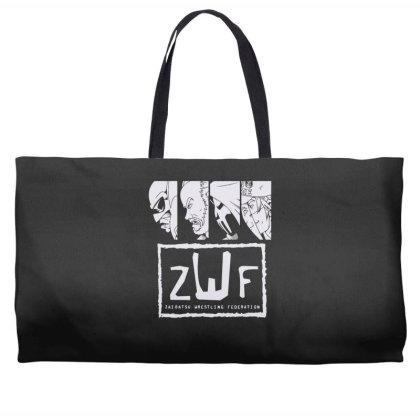 Zaibatsu Wrestling Federation 4 Life Weekender Totes Designed By Lyly