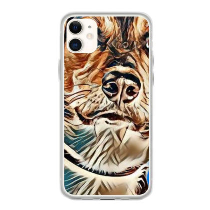 Closeup Image Of A Cute Young Iphone 11 Case Designed By Kemnabi