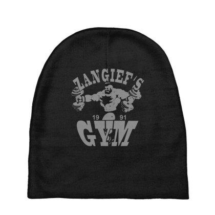 Zangief's Gym Baby Beanies Designed By Lyly