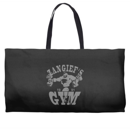 Zangief's Gym Weekender Totes Designed By Lyly
