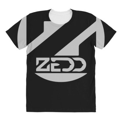 Zedd Dj All Over Women's T-shirt Designed By Lyly