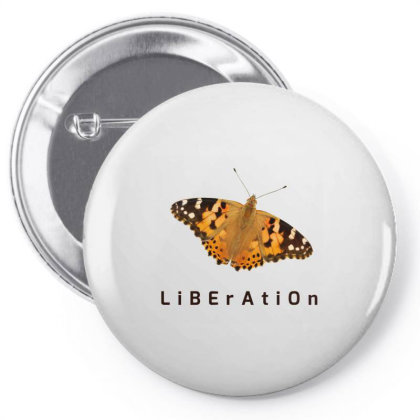 Liberation Pin-back Button Designed By Thakurji