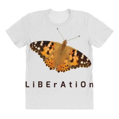 Liberation All Over Women's T-shirt Designed By Thakurji
