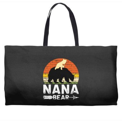 Nana Bear Weekender Totes Designed By Badaudesign