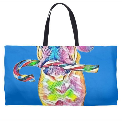 Funny Photo Of An English Bul Weekender Totes Designed By Kemnabi