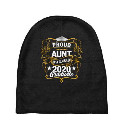 Proud Aunt Of A 2020 Graduate Baby Beanies Designed By Badaudesign