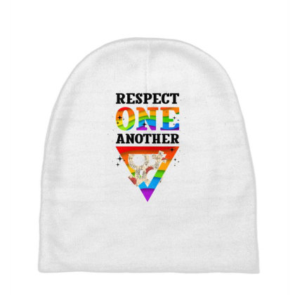 Respect One Another Baby Beanies Designed By Badaudesign