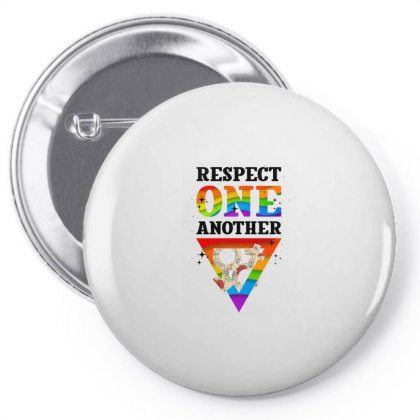 Respect One Another Pin-back Button Designed By Badaudesign