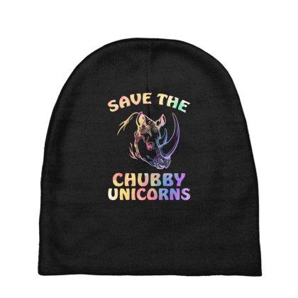 Save The Chubby Unicorns Baby Beanies Designed By Badaudesign