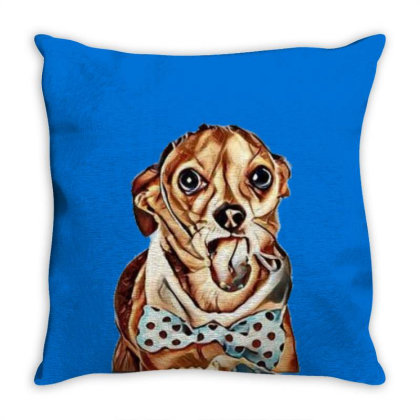Funny Photo Of A Chihuahua Do Throw Pillow Designed By Kemnabi