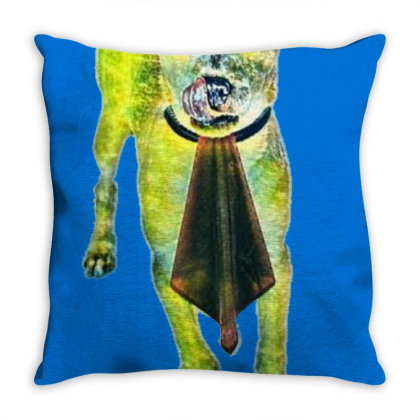 Cute Little Chihuahua Mixed B Throw Pillow Designed By Kemnabi
