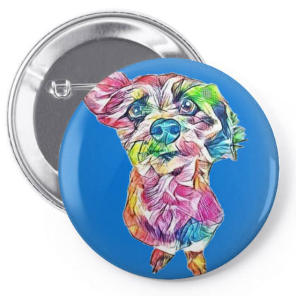 Adorable And Funny Looking Sm Pin-back Button Designed By Kemnabi
