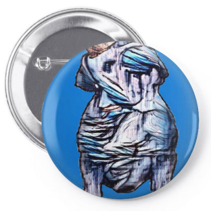 Cute Little French Bulldog Br Pin-back Button Designed By Kemnabi