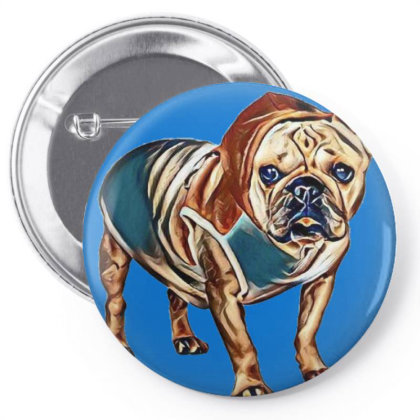 Cute Little French Bulldog We Pin-back Button Designed By Kemnabi