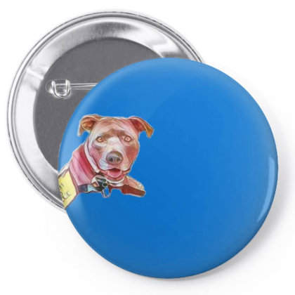 Search And Rescue Dog Overloo Pin-back Button Designed By Kemnabi