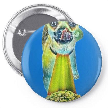 Cute Chihuahua Crossbreed Dog Pin-back Button Designed By Kemnabi