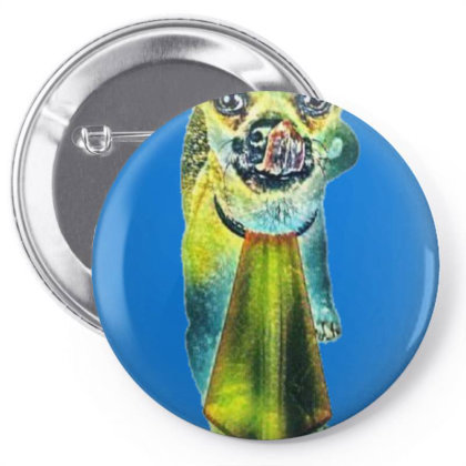Chihuahua Mixed Breed Pin-back Button Designed By Kemnabi