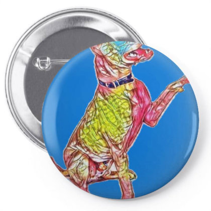A Happy And Friendly Mixed Br Pin-back Button Designed By Kemnabi