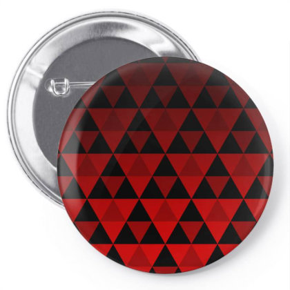 Tri Pattern Pin-back Button Designed By Dark Omega