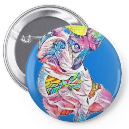 Cute French Bulldog Dressed F Pin-back Button Designed By Kemnabi