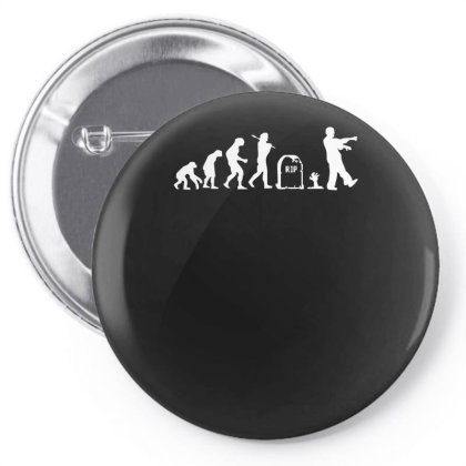 Zombie Evolution Pin-back Button Designed By L4l4pow