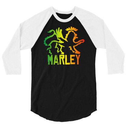 Ziggy Marley Lion 3/4 Sleeve Shirt Designed By L4l4pow