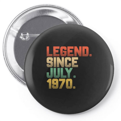 Legend Since July 1970 Pin-back Button Designed By Ashlıcar
