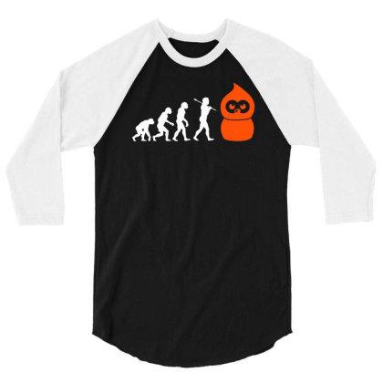 Zingy Evolution Edf Energy 3/4 Sleeve Shirt Designed By L4l4pow