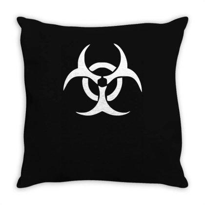 Zombie Outbreak Response Team Crew Throw Pillow Designed By L4l4pow