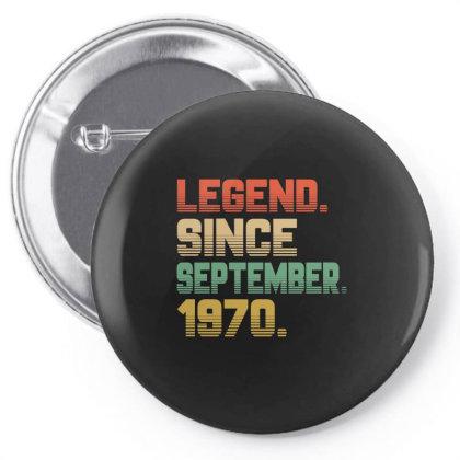 Legend Since September 1970 Pin-back Button Designed By Ashlıcar