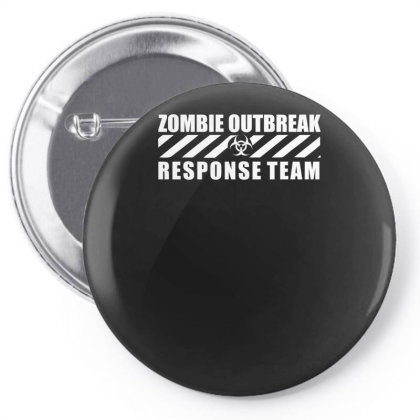 Zombie Outbreak Response Team Pin-back Button Designed By L4l4pow