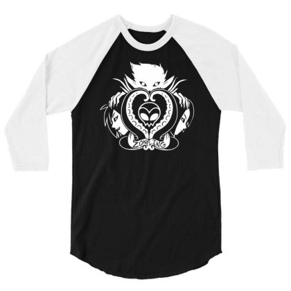 Zoneling 3/4 Sleeve Shirt Designed By L4l4pow