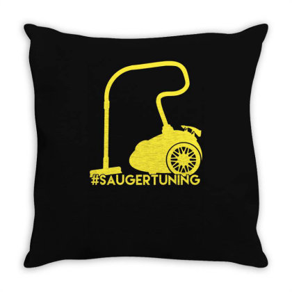 #saugertuning Throw Pillow Designed By L4l4pow