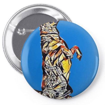 A Well Behaved And Trained Ca Pin-back Button Designed By Kemnabi