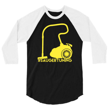 #saugertuning 3/4 Sleeve Shirt Designed By L4l4pow
