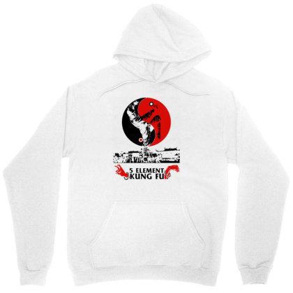 5 Element Kung Fu Unisex Hoodie Designed By L4l4pow