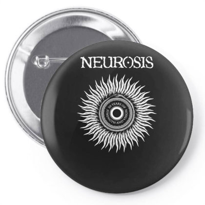 30 Years Of Neurosis Metal Band Pin-back Button Designed By L4l4pow