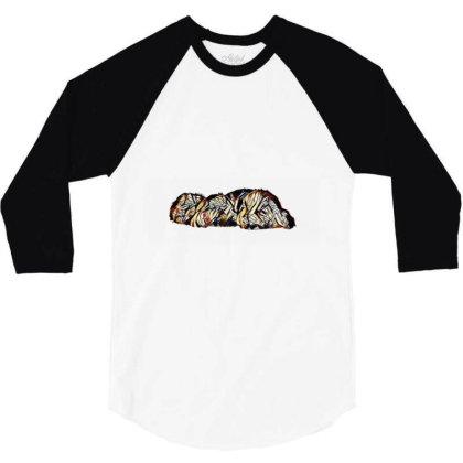 Two Adorable Little Black Cro 3/4 Sleeve Shirt Designed By Kemnabi
