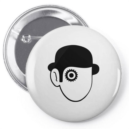 A Clockwork Orange Droog Pin-back Button Designed By L4l4pow