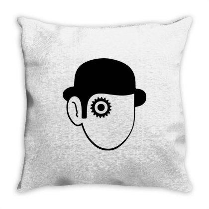 A Clockwork Orange Droog Throw Pillow Designed By L4l4pow