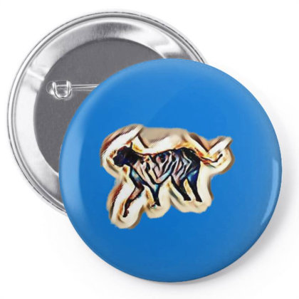 Two Adorable Little Black Col Pin-back Button Designed By Kemnabi