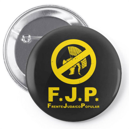 Against Popular Jewish Pin-back Button Designed By L4l4pow