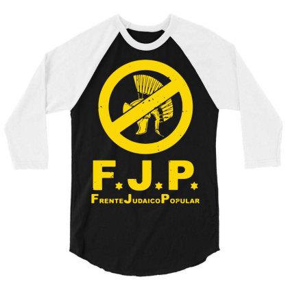 Against Popular Jewish 3/4 Sleeve Shirt Designed By L4l4pow