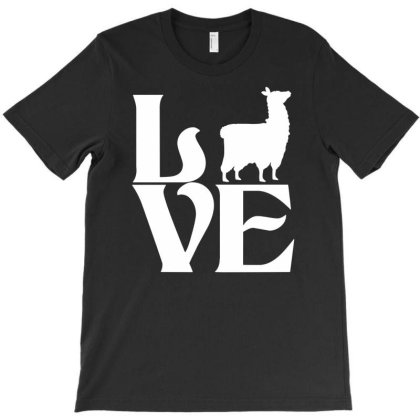 Love Llama T-shirt Designed By G3ry