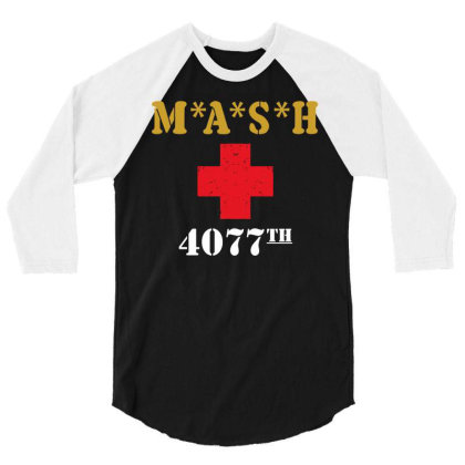 M A S H 3/4 Sleeve Shirt Designed By G3ry