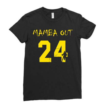 Mamba Out Ladies Fitted T-shirt Designed By G3ry