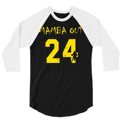 Mamba Out 3/4 Sleeve Shirt Designed By G3ry
