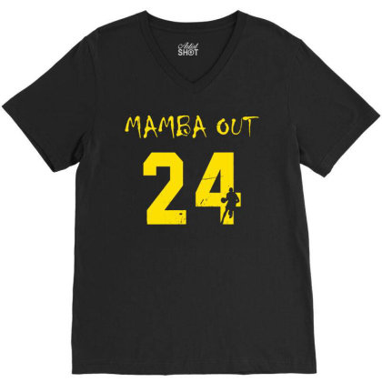 Mamba Out V-neck Tee Designed By G3ry